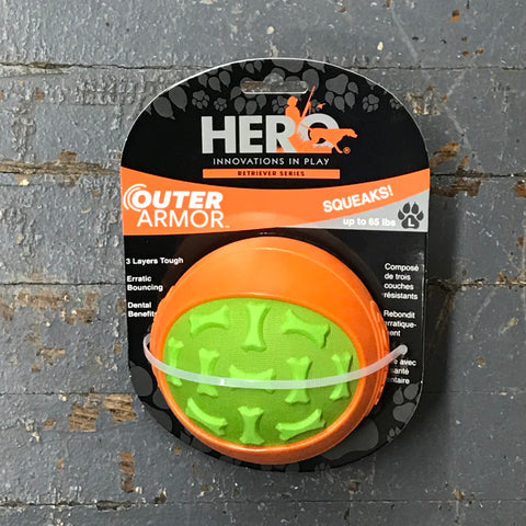 Hero Outer Armor Ball Large Pet Toy
