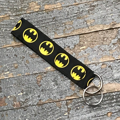 Handmade Key Chain Fob Lanyard Batman Comic