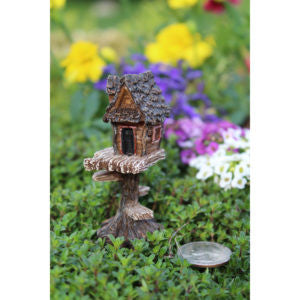 Fairy Garden Itty Bitty Club House Statue Miniature