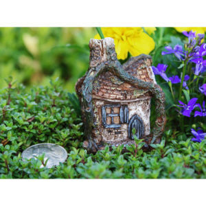 Fairy Garden Itty Bitty Hollow House Statue Miniature