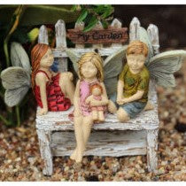 Fairy Garden Fairy Pixie Little Trio Statue Miniature