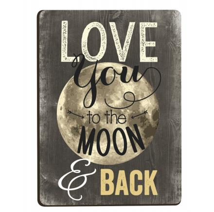Magnet Love You to the Moon & Back