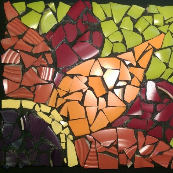 Mosaic Tile Project at The Depot