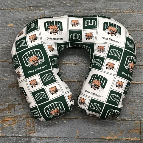 Neck Pillow College Football Ohio University Bobcats Travel Pillow