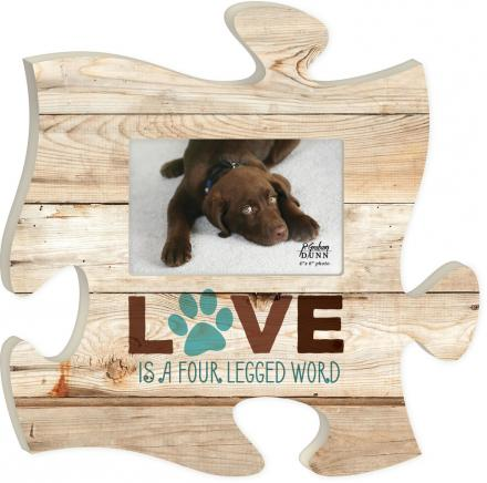Puzzle Piece Love Four Legged Word