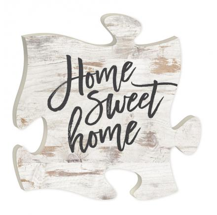 Puzzle Piece Frame Home Sweet Home