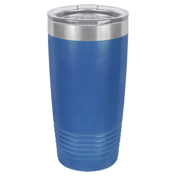 Stainless Steel 20oz Wine Beverage Drink Travel Tumbler Royal Blue