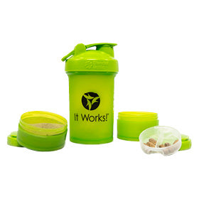 It Works Blender Bottle