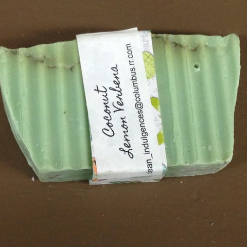 Bar Cleansing Soap Wash Coconut Lemon Verbena