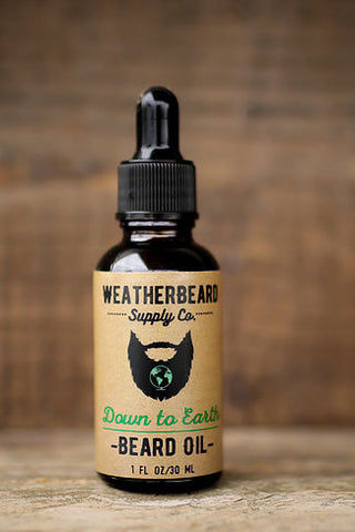 Weatherbeard Beard Grooming Oil Down to Earth