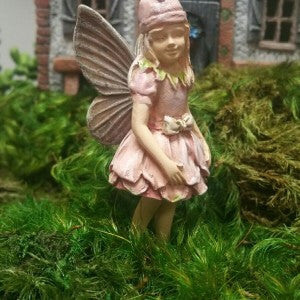 Fairy Garden Fairy Pixie Joy Statue Miniature