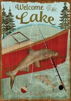 Welcome to the Lake Garden Flag