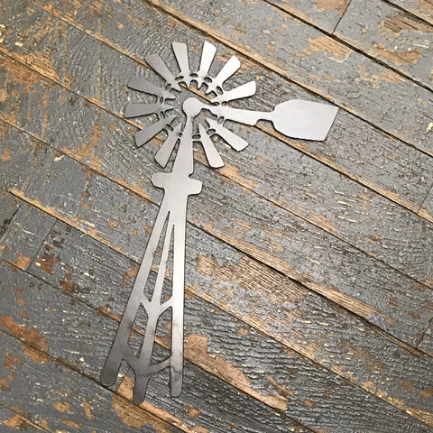 Windmill Farm Metal Sign Wall Hanger Small