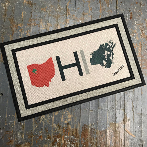 Floor Mat Indian Lake Ohio HOME Door Rug Kevin Campbell