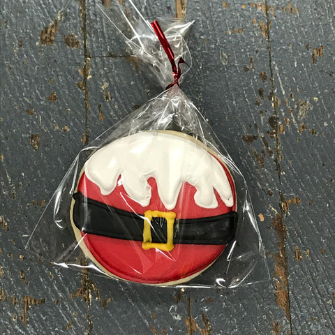 Laurie's Sweet Treats Cookie Round Santa Claus