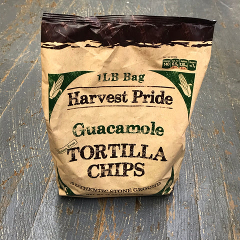 Harvest Pride Guacamole Restaurant Style Tortilla Chips
