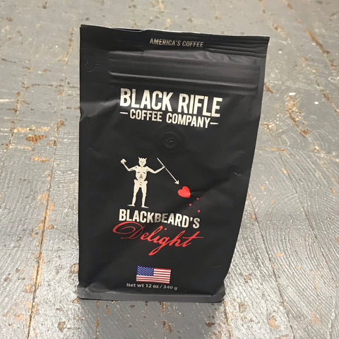 Black Rifle Blackbeard's Delight Dark Roast 12oz Ground Coffee