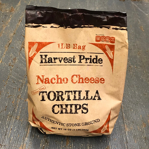 Harvest Pride Nacho Cheese Restaurant Style Tortilla Chips