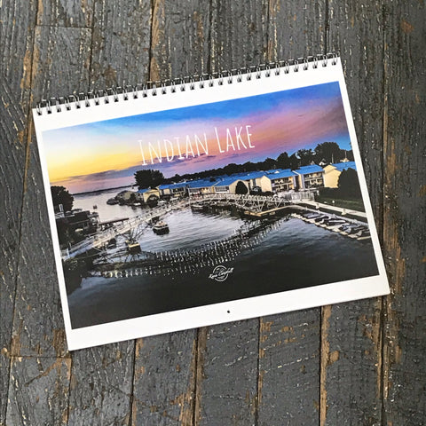 2021 Indian Lake Ohio Kevin Campbell Calendar