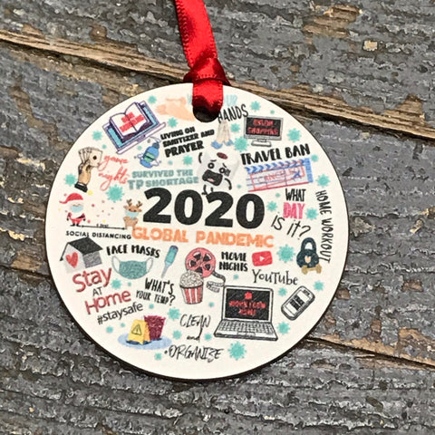 2020 Global Pandemic Ornament Kevin Campbell