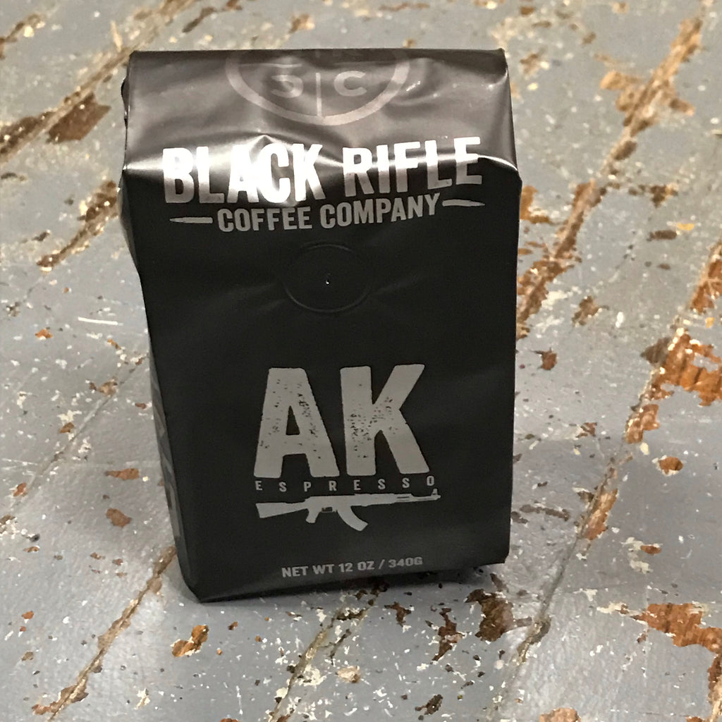 AK-47 Espresso Medium Roast Black Rifle 12oz Ground Coffee