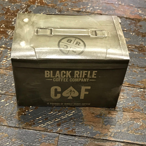 Black Rifle CAF Medium Roast 12 Single Serve Rounds Coffee