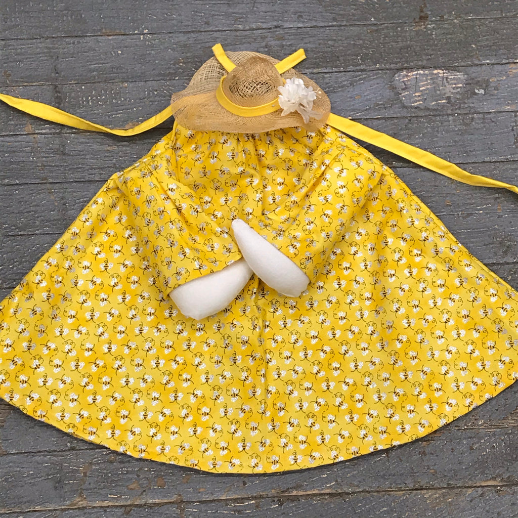 Goose Clothes Complete Holiday Goose Outfit Bumble Bee Dress and Hat Costume