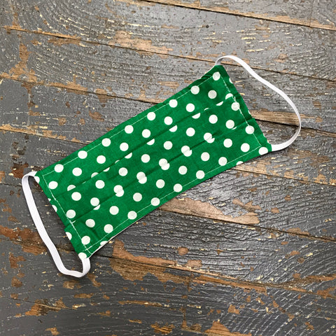 Polka Dot Handmade Cotton Cloth Face Mask Reversible Reusable