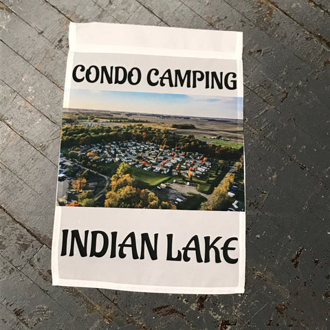 Indian Lake Ohio Condo Camping Garden Flag Kevin Campbell