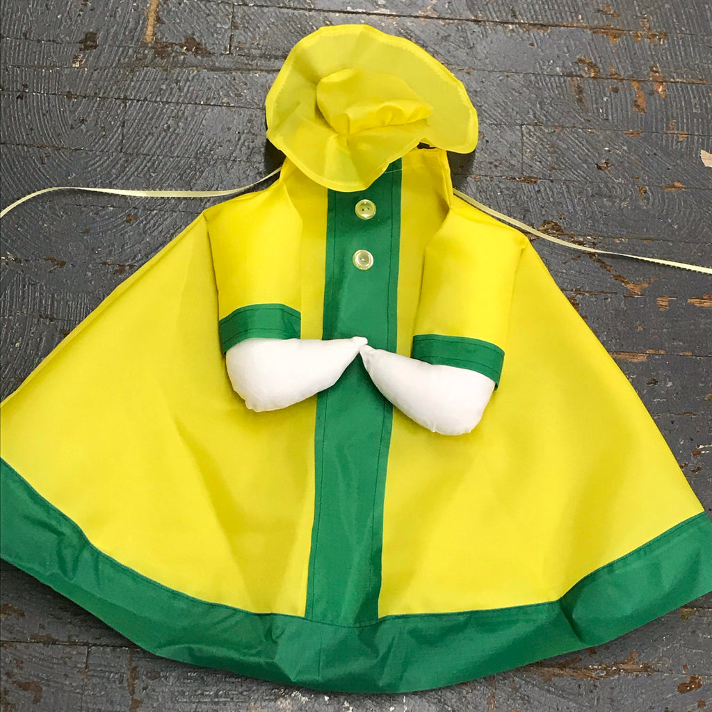 Goose Clothes Complete Holiday Goose Outfit Raincoat Dress and Hat Costume