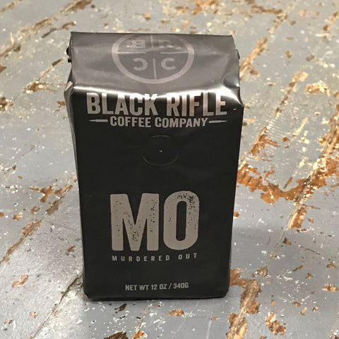 Murdered Out Extra Dark Roast Black Rifle 12oz Ground Coffee