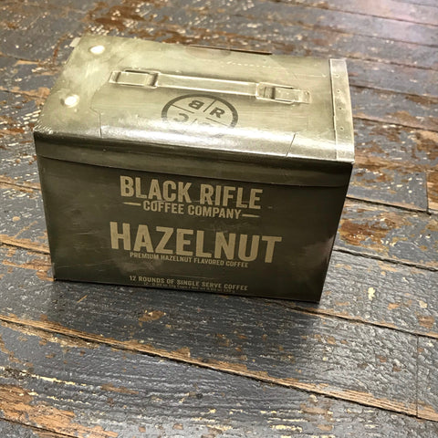 Black Rifle Hazelnut Medium Roast 12 Single Serve Rounds Coffee