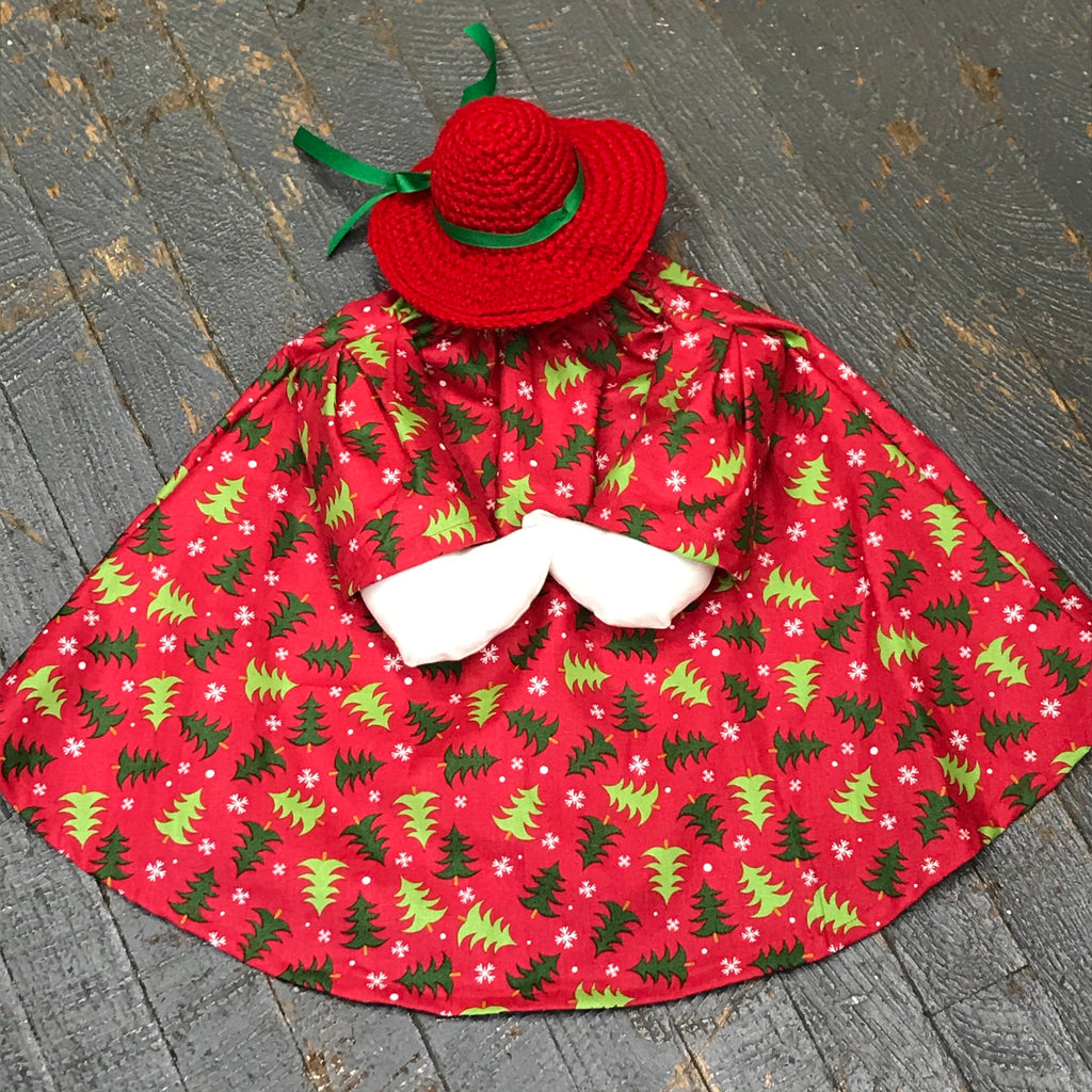 Goose Clothes Complete Holiday Goose Outfit Winter Christmas Tree Dress and Hat Costume