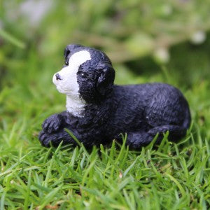 Fairy Garden Itty Bitty Puppy Dog Boomer Statue Miniature