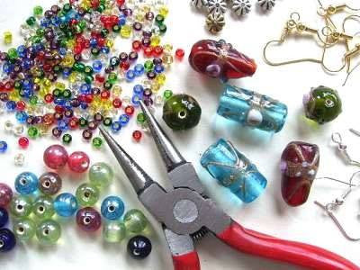 Beaded Jewelry Making at The Depot
