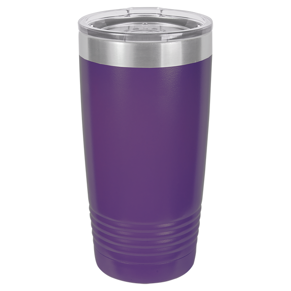 Stainless Steel 20oz Wine Beverage Drink Travel Tumbler Purple
