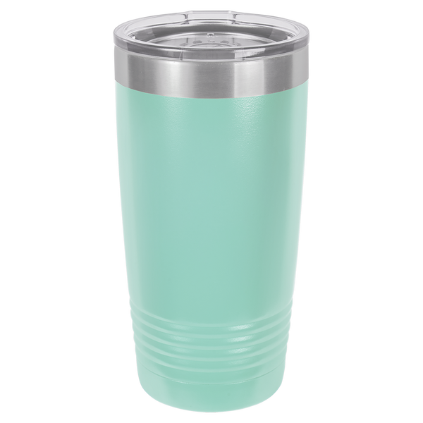 Stainless Steel 20oz Wine Beverage Drink Travel Tumbler Seafoam