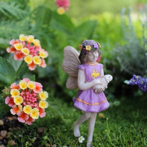 Fairy Garden Fairy Pixie Willow Statue Miniature
