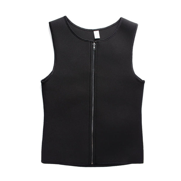 Neoprene Zipper Tank Tops Best Shapewear