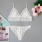 Sexy Hot Transparent Two Piece Set Women Underwear Babydoll Lingerie