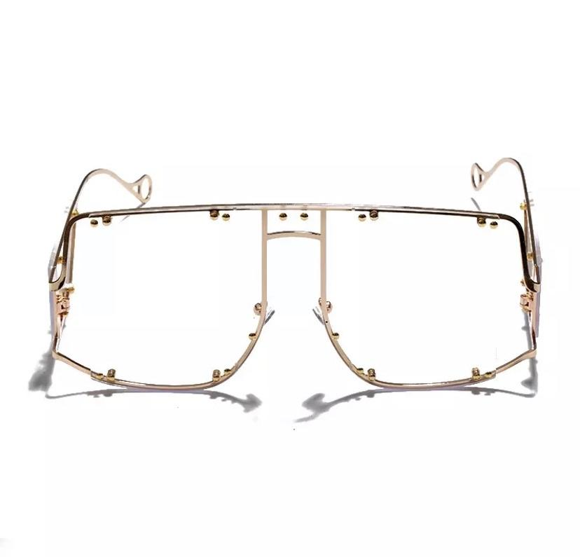 Clear Mirror Glasses - WazzalaLifestyle