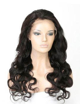 14-30 Inch Lace 360 lace Frontal Wig - WazzalaLifestyle