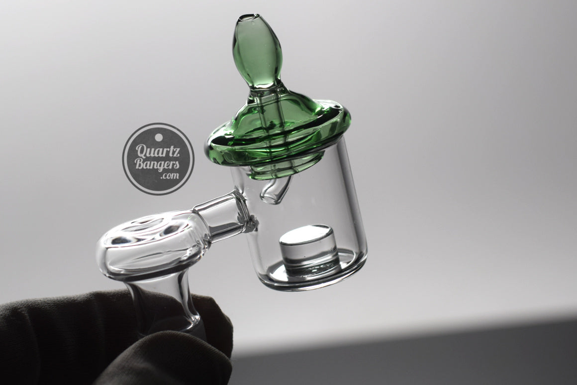Green ufo carb cap directional airflow