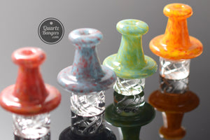 Speckled Top Vortex Carb Cap