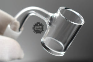 Pro-Series  - Fully Worked Thick Bottom Quartz Banger w/ Beveled Top
