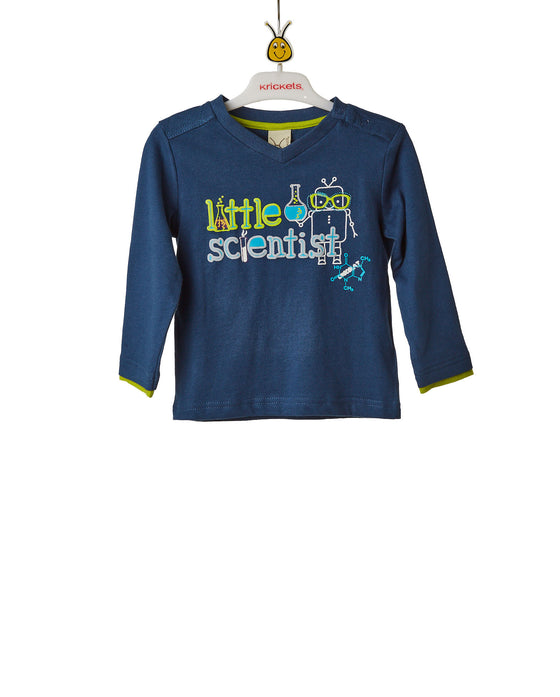 Boys Blue Long Sleeve Top