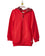 Girls Red French Terry Zip Hoodie