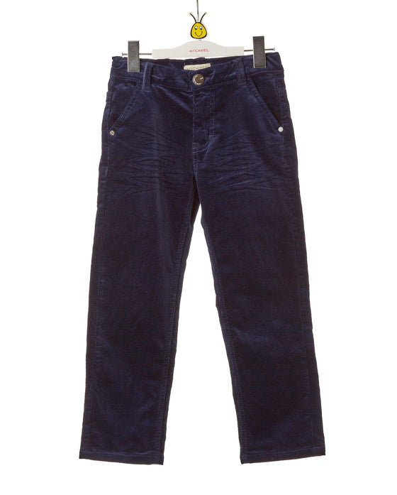 Boys Blue Stretch Pants