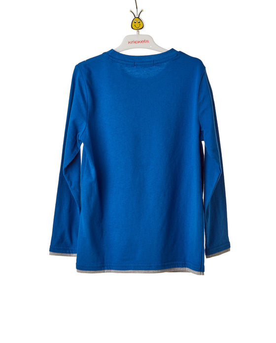 Boys Blue Long Sleeve T-Shirt