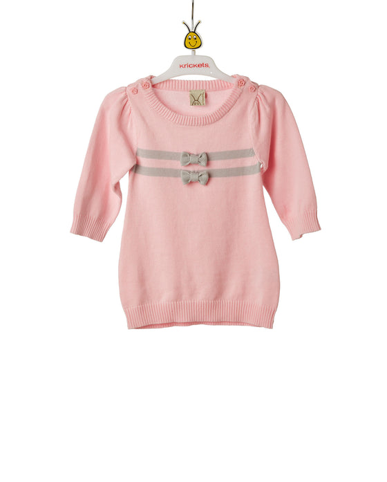 Baby Girls Flatknit Dress